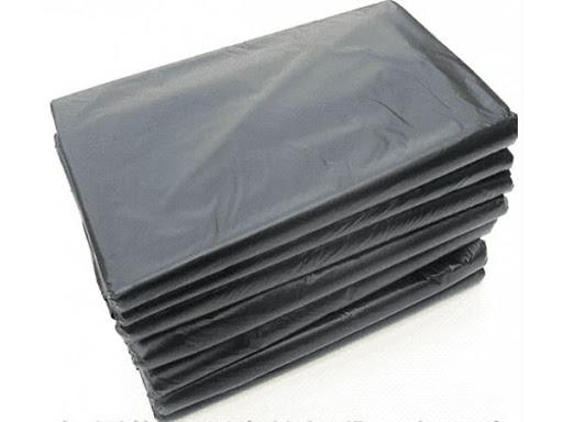 мешки для мусора пластами